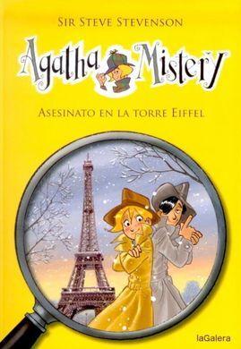 Resultado de imagen de agatha mistery asesinato en la torre eiffel