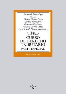 DESCARGAR CURSO DE DERECHO TRIBUTARIO. PARTE ESPECIAL (9ª ED.)
