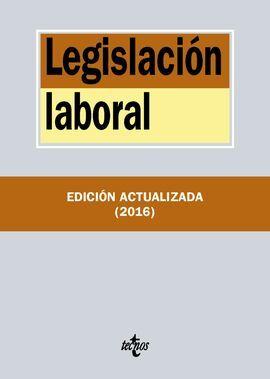DESCARGAR LEGISLACIÓN LABORAL (32ª ED. 2016)
