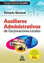 DESCARGAR TEMARIO GENERAL AUXILIARES ADMINISTRATIVOS DE CORPORACIONES LOCALES