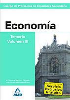 DESCARGAR ECONOMÍA TEMARIO V. 2 CUERPO DE PROFESORES DE ENSEÑANZA SECUNDARIA