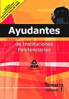 DESCARGAR AYUDANTES DE INSTITUCIONES PENITENCIARIAS VOLUMEN 1