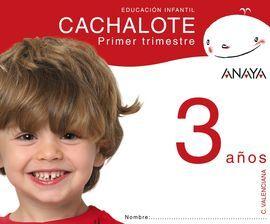 DESCARGAR CACHALOTE - 3 AÑOS - 1º TRIM. - VALENCIA