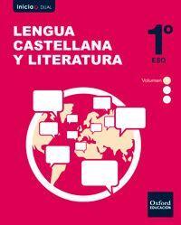 DESCARGAR LENGUA CASTELLANA Y LITERATURA - 1º ESO - VOLUMEN ANUAL - INICIA DUAL