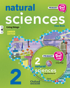 THINK DO LEARN - NATURAL SCIENCE - 2ND PRIMARY - STUDENT'S BOOK + CD + STORIES MODULE 2 AMBER