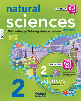 THINK DO LEARN - NATURAL SCIENCE - 2ND PRIMARY - STUDENT'S BOOK MODULE 3 AMBER