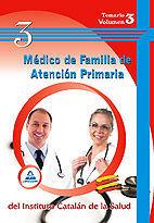 DESCARGAR MEDICO DE FAMILIA DE ATENCION PRIMARIA V. 3 DEL INST. CATALAN DE LA SALUD