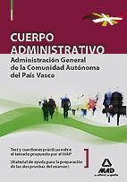 DESCARGAR TEST Y CUESTIONES PRÁCTICAS - CUERPO ADMINISTRATIVO - ADMINISTRACIÓN GENERAL DE LA COMUNIDAD AUTÓNO