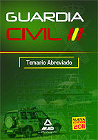 GUARDIA CIVIL. TEMARIO ABREVIADO