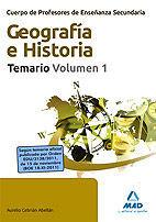 DESCARGAR SECUNDARIA GEOGRAFIA E HISTORIA TEMARIO VOLUMEN 1