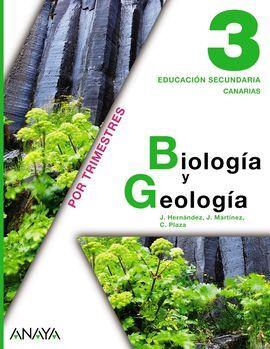 DESCARGAR BIOLOGÍA Y GEOLOGÍA - 3º ESO - CANARIAS