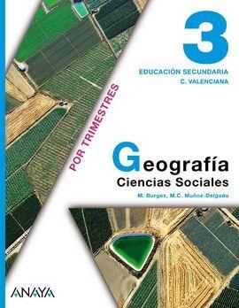 DESCARGAR GEOGRAFIA - 3º ESO - COMUNIDAD VALENCIANA
