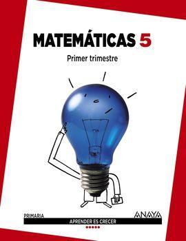 DESCARGAR MATEMÁTICAS - 5º ED. PRIM.