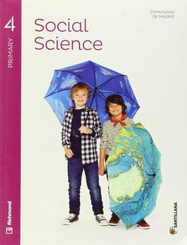 SOCIAL SCIENCE - 4 PRIMARY - STUDENT'S BOOK