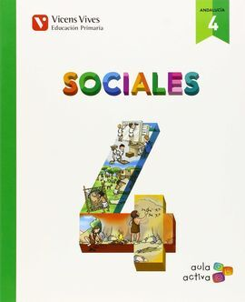 SOCIALES 4 ANDALUCIA (AULA ACTIVA)