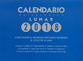 CALENDARIO ASTROLOGICO LUNAR 2018