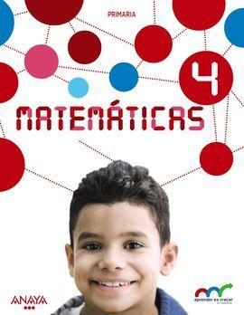 DESCARGAR MATEMÁTICAS - 4º ED. PRIM. (CON RESOLUCIÓN DE PROBLEMAS 4)