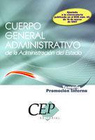 DESCARGAR TEMARIO . PROMOCIÓN INTERNA - CUERPO GENERAL ADMINISTRATIVO DE LA ADMINISTRACIÓN DEL ESTADO
