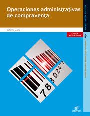 DESCARGAR OPERACIONES ADMINISTRATIVAS DE COMPRA-VENTA ED.2014