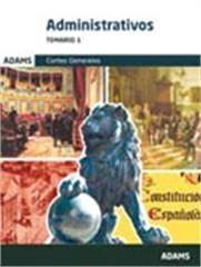 DESCARGAR ADMINISTRATIVOS, CORTES GENERALES. TEMARIO 1