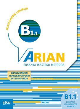 Arian B1.1 - Ikaslearen Liburua (erantzunekin+cd