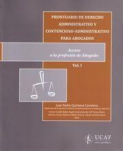 DESCARGAR PRONTUARIO DE DERECHO ADMINISTRATIVO (2 TOMOS)