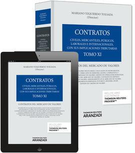 DESCARGAR TOMO XI. CONTRATOS DEL MERCADO DE VALORES (PAPEL + E-BOOK)