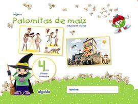 DESCARGAR PROYECTO PALOMITAS DE MAÍZ, EDUCACIÓN INFANTIL, 4 AÑOS, PRIMER TRIMESTRE, LIBRO DEL ALUMNO