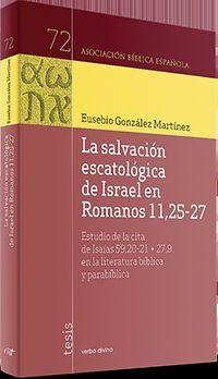 DESCARGAR SALVACIÓN ESCATOLÓGICA DE ISRAEL EN ROMANOS 11,25-