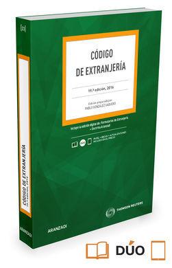 DESCARGAR CÓDIGO DE EXTRANJERÍA (PAPEL+E-BOOK)