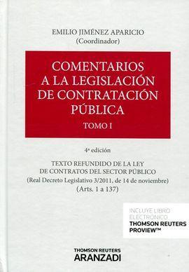 DESCARGAR COMENTARIOS A LA LEGISLACIÓN DE CONTRATACIÓN PÚBLICA 4 ED 3 TOMOS