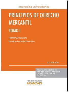 DESCARGAR PRINCIPIOS DE DERECHO MERCANTIL - TOMO I (PAPEL+E-BOOK)