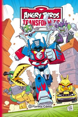 ANGRY BIRDS TRANSFORMERS Nº 02/02