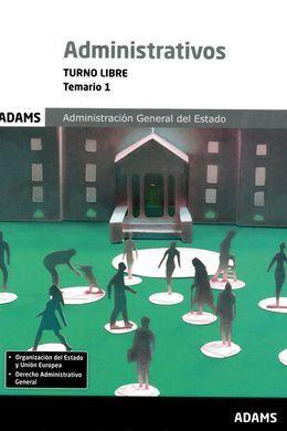DESCARGAR TEMARIO 1 ADMINISTRATIVOS ADMINISTRACIÓN DEL ESTADO, TURNO LIBRE