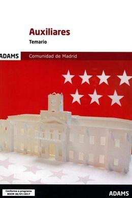 DESCARGAR TEMARIO AUXILIARES ADMINISTRATIVOS DE LA COMUNIDAD DE MADRID