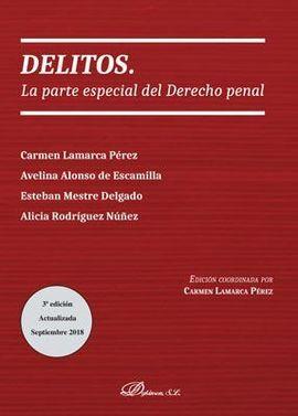 DESCARGAR DELITOS. LA PARTE ESPECIAL DEL DERECHO PENAL