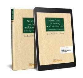 DESCARGAR NO SE ALQUILA UN VIENTRE, SE ADQUIERE UN HIJO (PAPEL + E-BOOK)