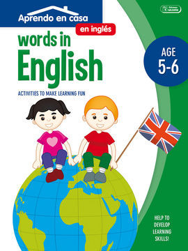 WORDS IN ENGLISH/AGE 5-6/ACTIVITIES TO MAKE LEARNI