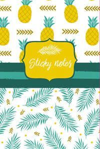 STICKY NOTES PACK PIÑAS