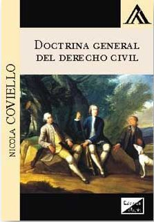 DOCTRINA GENERAL DEL DERECHO CIVIL 2017