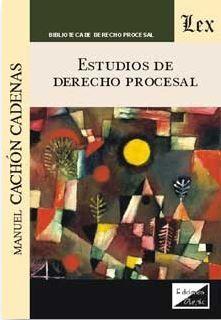 DESCARGAR ESTUDIOS DE DERECHO PROCESAL